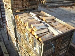 Brennholz Geschnitten